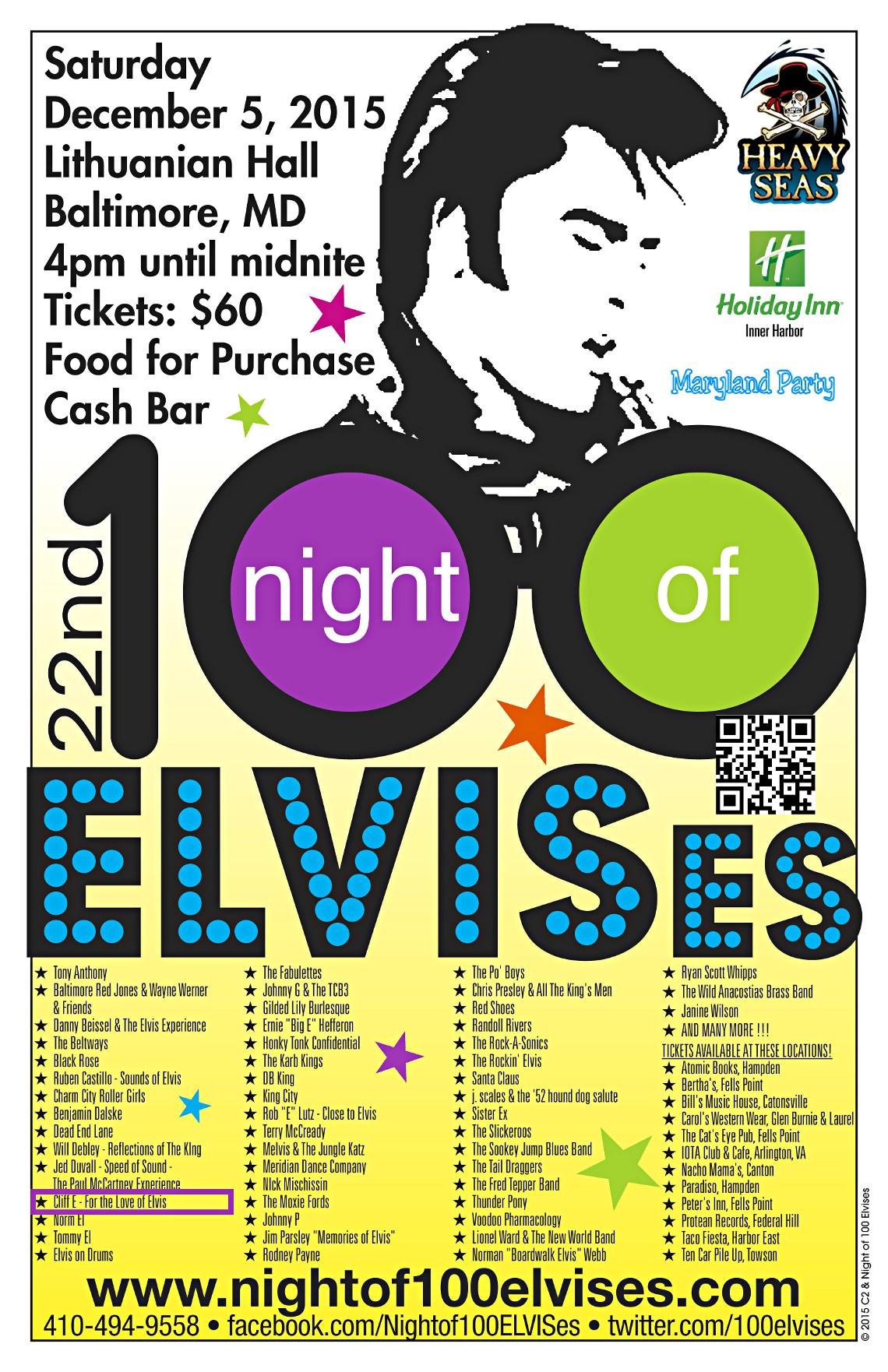 Night of 100 ELVISes -- C L I C K ! ! !